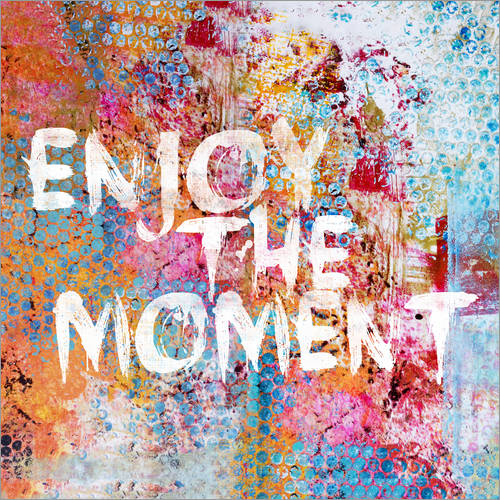 Wandsticker Enjoy the moment II
