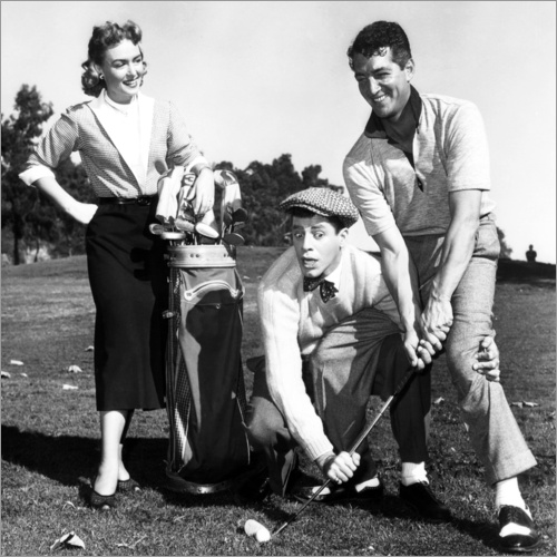 Wandsticker Der Caddy, Donna Reed, Jerry Lewis, Dean Martin