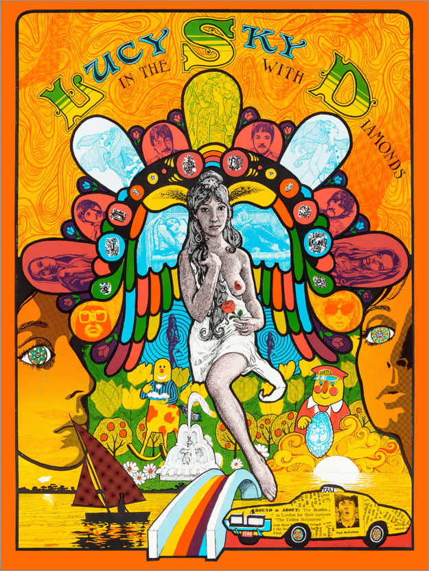 Premium-Poster Lucy In The Sky With Diamonds