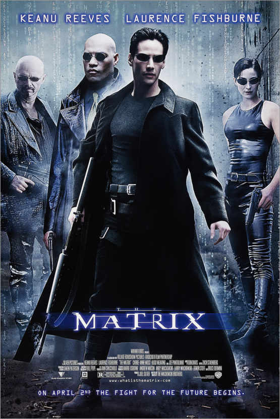 Premium-Poster The Matrix