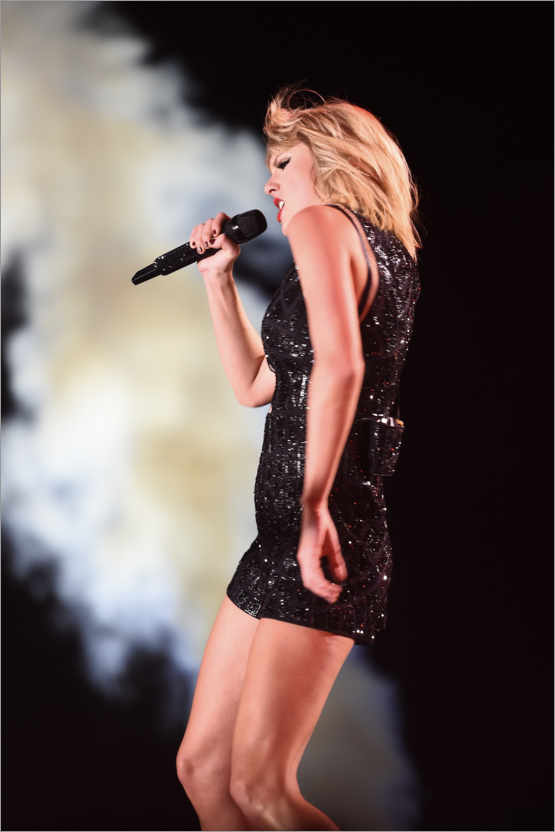 Premium-Poster Taylor Swift in concert, F1 United States Grand Prix, Texas 2016