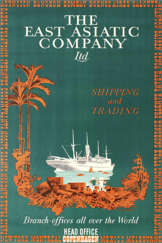 Premium-Poster The East Asian Company