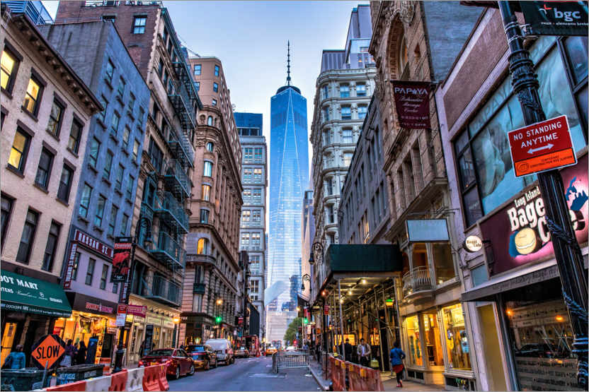 Premium-Poster Blick auf das One World Trade Center in New York