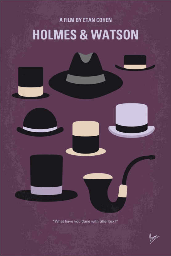 Premium-Poster Holmes and Watson