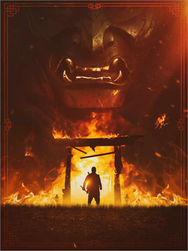 Premium-Poster The Ghost