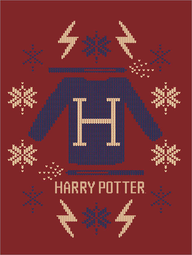 Premium-Poster Harry Potter - Pullover Design