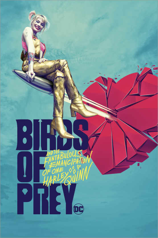 Premium-Poster Birds of Prey- Emancipation
