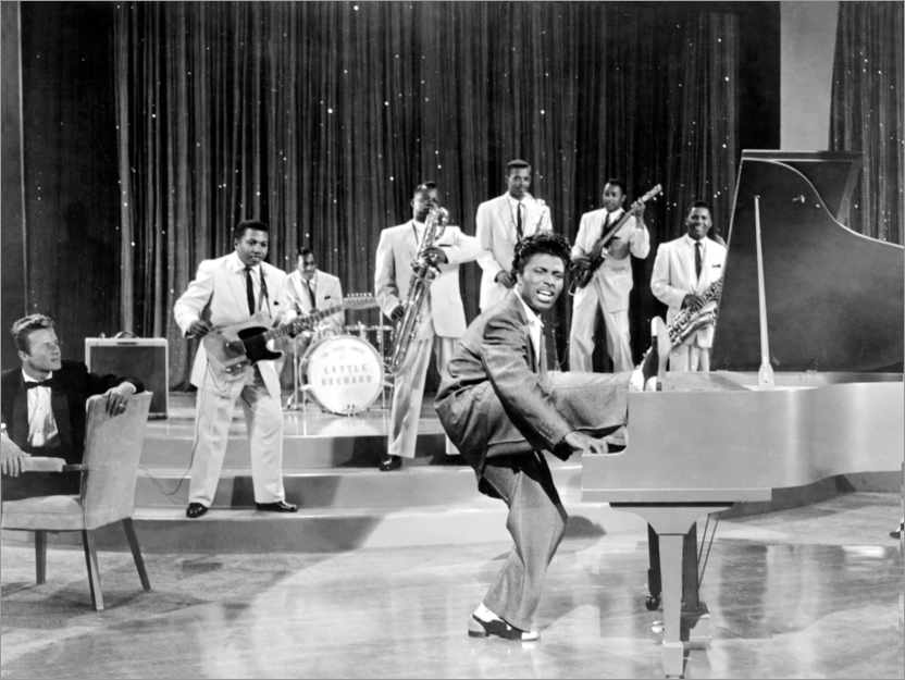 Premium-Poster The girl can't help it - Little Richard & Band