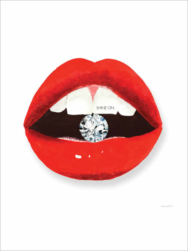 Premium-Poster Hot Lips II