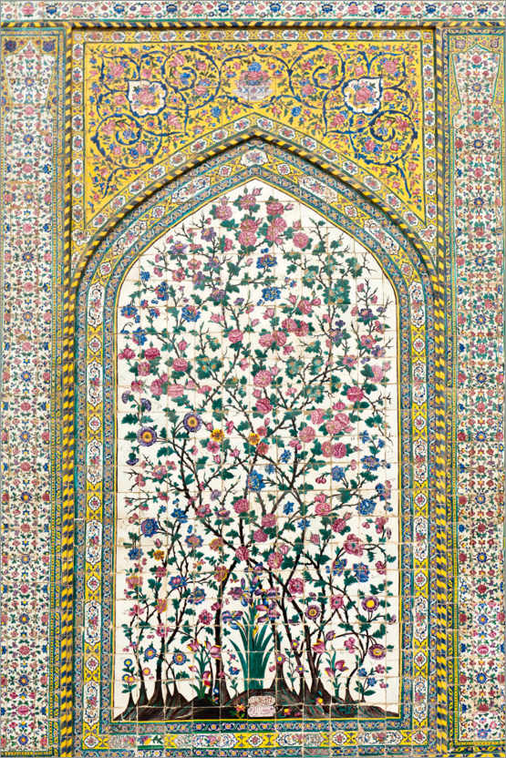 Premium-Poster Florales Muster, Wakil Moschee