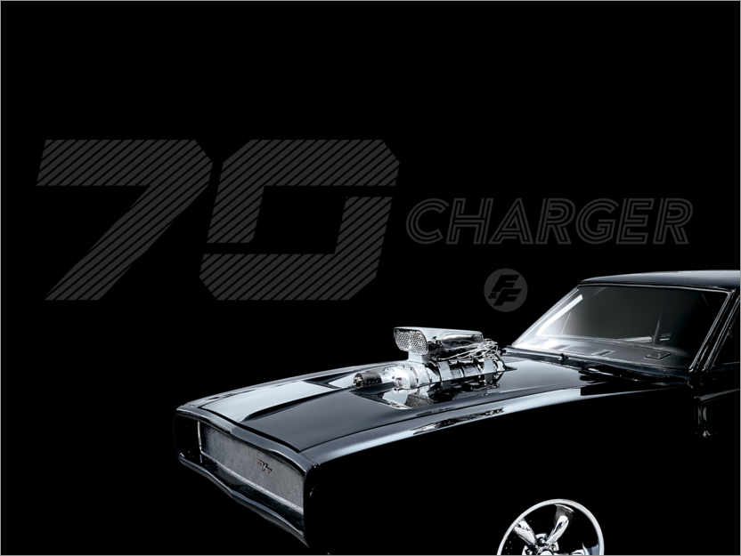 Premium-Poster Dodge Charger