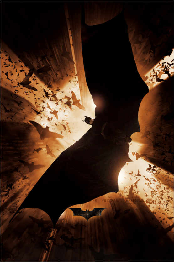 Premium-Poster Batman Begins 2005 - Shadow