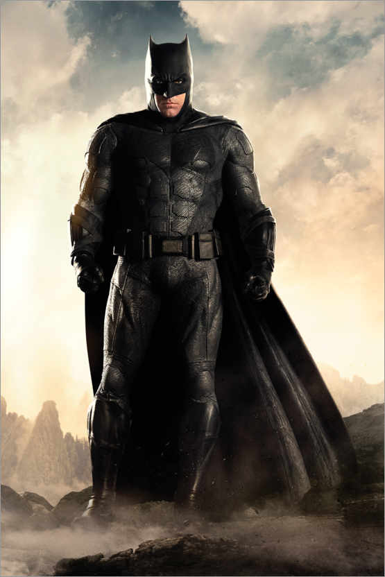 Premium-Poster Justice League - Batman
