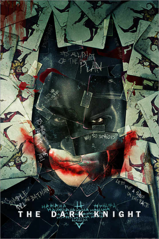 Premium-Poster Batman - The Dark Knight
