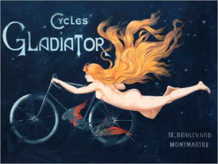 Premium-Poster  Cycles Gladiator - Georges Massias