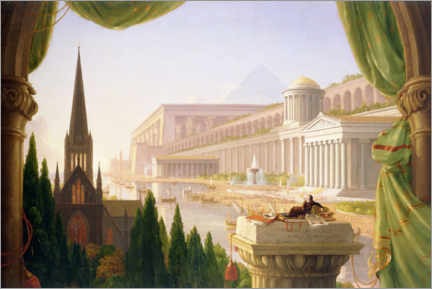 Gallery Print  Architektentraum - Thomas Cole