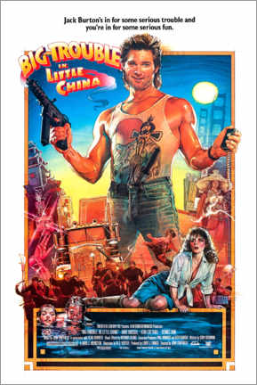 Premium-Poster Big Trouble in Little China (Englisch)