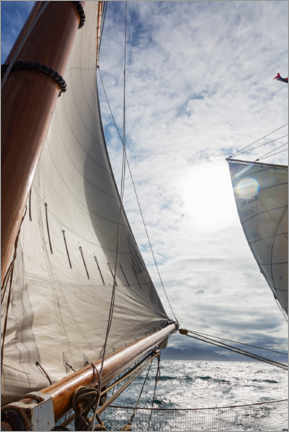 Premium-Poster  Wind in den Segeln - Caia Image