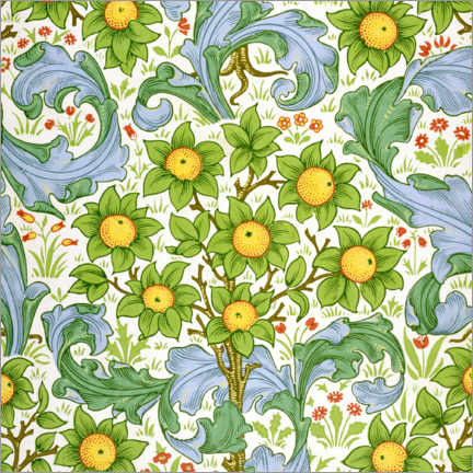 Alubild  Obstgarten - William Morris