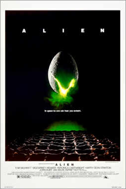 Premium-Poster  Alien (englisch) - Entertainment Collection
