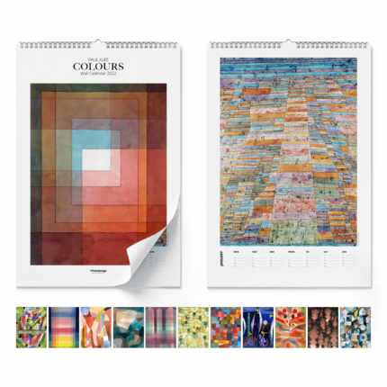 Wandkalender Paul Klee, Colours 2020