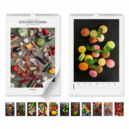 Wandkalender  Kitchen Stories 2020