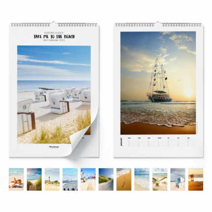 Wandkalender  Take Me To The Beach 2020