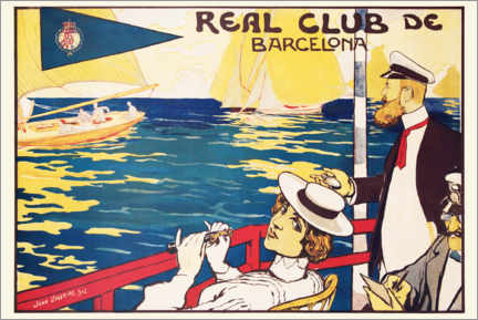 Leinwandbild  Real Club de Barcelona - Joan Llaverias
