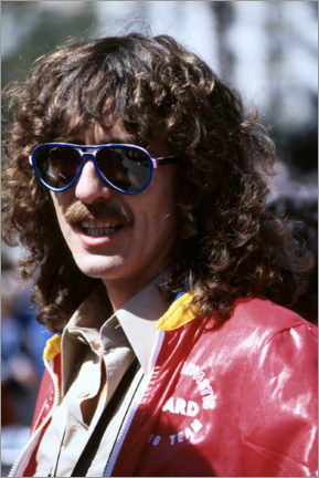 Leinwandbild  George Harrison, Long Beach Grand Prix, 1978