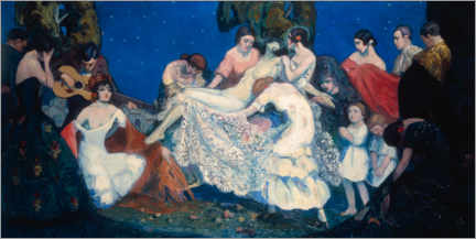 Gallery Print  Spanisches Drama - Federico Beltrán Masses