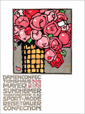 Gallery Print  Damenconfectionshaus Mayer - Ludwig Hohlwein