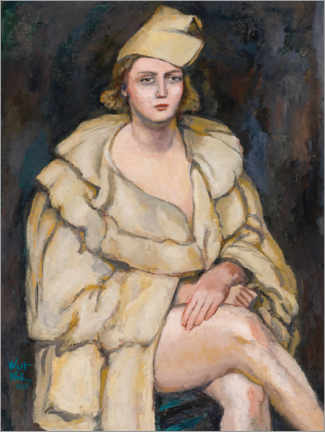 Alubild  Lady in Robe (Die Performerin) - Walt Kuhn