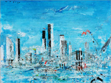 Acrylglasbild  New York, Brooklyn Bridge - Wilhelm Thöny