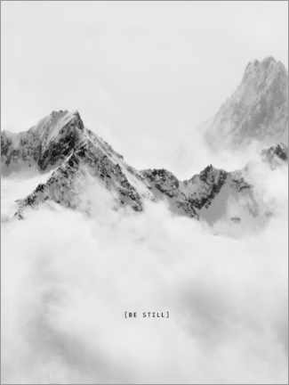 Gallery Print  Be still - Finlay and Noa