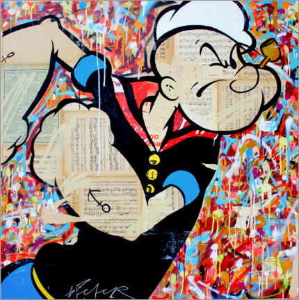Premium-Poster  Popeye - Michiel Folkers