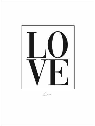 Gallery Print  Love - Finlay and Noa