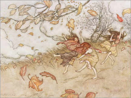 Premium-Poster  Illustration aus Peter Pan - Arthur Rackham