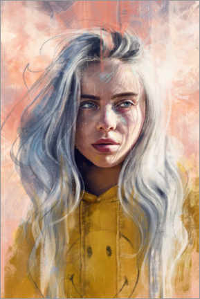 Gallery Print  Billie Eilish - Dmitry Belov