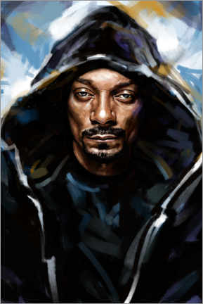 Premium-Poster Snoop Dogg