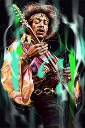 Alubild  Jimi Hendrix - Dmitry Belov