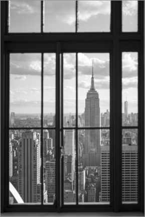 Leinwandbild  Empire State Building in New York - Jan Christopher Becke