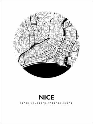 Wandsticker  Nizza - 44spaces