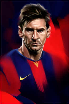 Premium-Poster  Lionel Messi - Dmitry Belov