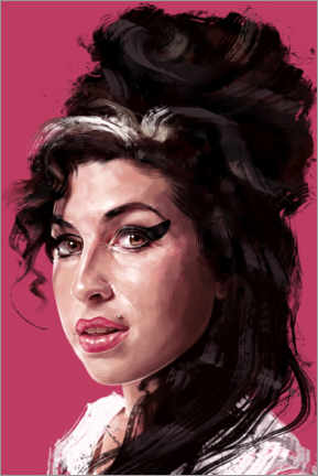 Leinwandbild  Amy Winehouse - Dmitry Belov