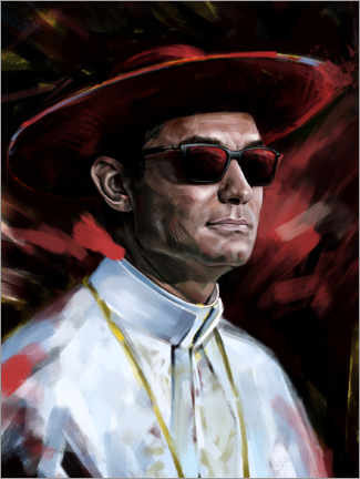 Holzbild  The Young Pope - Dmitry Belov