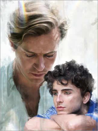 Wandsticker  Call Me by Your Name - Dmitry Belov