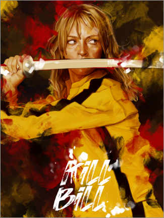 Premium-Poster  Kill Bill - Dmitry Belov