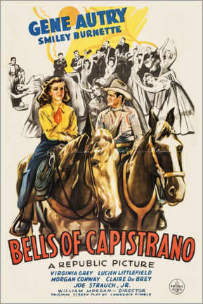 Premium-Poster  Bells of Capistrano - Entertainment Collection
