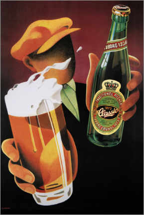 Wandsticker  Tuborg Classic - Advertising Collection
