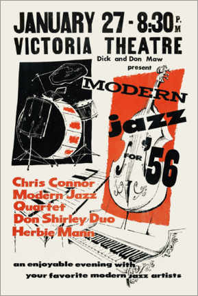 Gallery Print  Modern Jazz - Advertising Collection